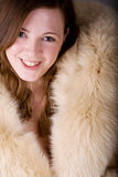 Fur coat Stock Images
