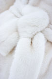 Fur coat belt Royalty Free Stock Photography