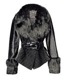 Fur coat Stock Photography
