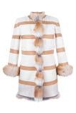 Fur coat Royalty Free Stock Image