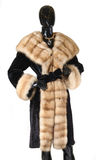 Fur coats, fur Stock Photography