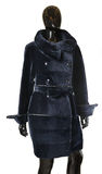 Fur coats, fur Stock Image