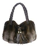 Fur handbag Stock Photography