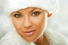 Fur Hat Royalty Free Stock Images