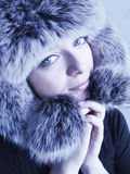 Fur hat Stock Image