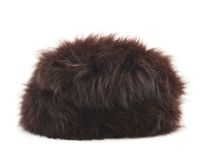 Fur hat isolated Royalty Free Stock Photography
