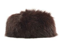 Fur hat isolated Royalty Free Stock Image
