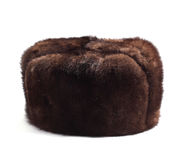 Fur hat Stock Images
