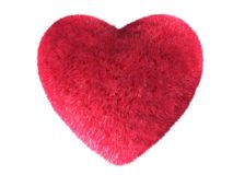 Fur heart Stock Photos
