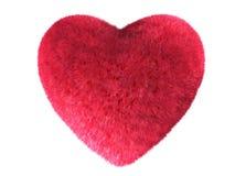 Fur heart Stock Photos