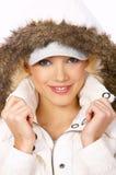 Fur hood Royalty Free Stock Image