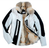 Fur jacket Stock Image