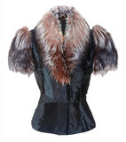 Fur jacket Royalty Free Stock Photography