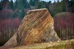 Fur marine sediment clay minerals, Fur Island, Denmark Royalty Free Stock Photography