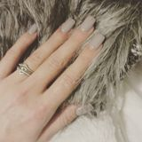 Fur + nails Royalty Free Stock Photography
