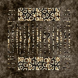 Fur pattern. Fur background with geometric pattern, seamless tiling Royalty Free Stock Photos