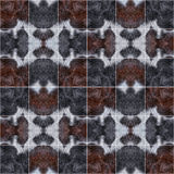 Fur pattern divided square Stock Photo