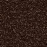 Fur pattern. Vector seamless pattern of animal fur Stock Photo