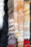 Fur shawl Royalty Free Stock Image