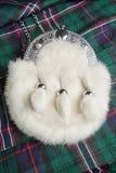 Fur sporran Royalty Free Stock Image
