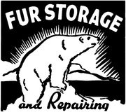 Fur Storage Royalty Free Stock Image