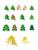 Fur-tree. Christsmas green tree, new year, santa claus, presents Royalty Free Stock Photos