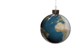 Fur-tree decoration. The Christmas approaches on the European part of a planet Stock Image