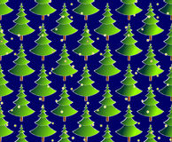 Fur-tree`s seamless pattern Stock Images