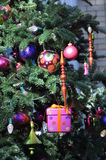Fur-tree toys. Royalty Free Stock Photography