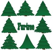 Fur-trees Royalty Free Stock Photos