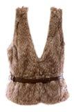 Fur vest Stock Images