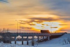 Fura en el puente Fotos de archivo libres de regalías