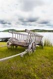 Fura jeziorem Obrazy Stock