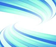 Furacão azul do aviador alinhado ilustração royalty free