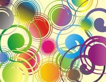 Furacão das cores Imagens de Stock Royalty Free