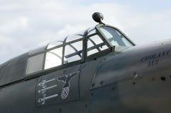 Furacão de WWII no airshow de Duxford Imagens de Stock