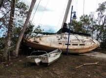 Furacão Irma Damage Fotografia de Stock Royalty Free