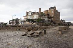 Furacão Sandy das consequências fotos de stock