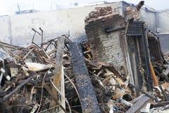 Furacão Sandy das consequências imagens de stock royalty free