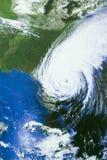 Furacão sobre Florida Fotografia de Stock