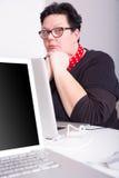Furado no escritório Foto de Stock