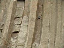 Furado - torre de escalada dos diabos Fotos de Stock