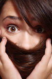 Furcht Stockfoto
