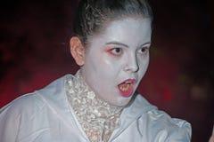 Furcht bei Halloween Stockfotografie