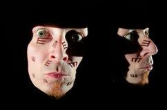 Furcht vor Augenarzt Stockfotografie