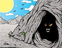 Furchtsame Höhle Lizenzfreie Stockfotografie