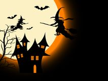 Furchtsame Halloween-Nacht Lizenzfreie Stockfotografie