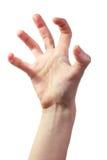 Furchtsame Hand Stockbilder