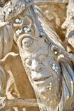 Furchtsame Skulptur Stockfotos