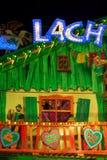 Furchtsame Unterhaltungs-Dekoration beim Oktoberfest Stockfoto